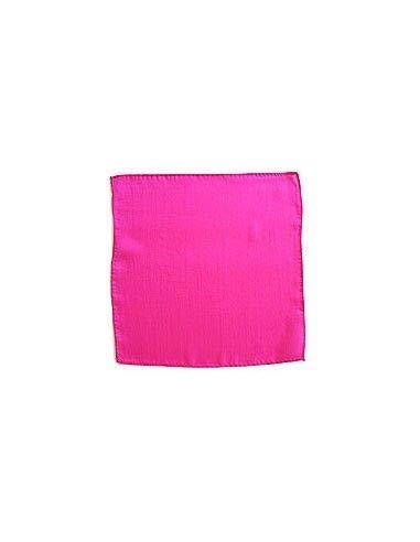 Foulard en soie (22,5 x 22,5 cm) ROSE