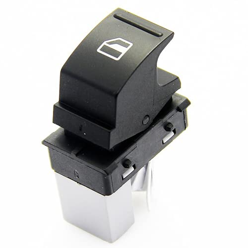 Xiyuncao Interruptor eléctrico de la Ventana del Coche, Interruptor de elevación de la Ventana del Coche, para VW Golf Passat Polo Seat 1K0959855