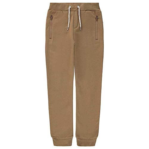 NAME IT Jungen NKMHONK BRU SWE Pant NOOS Trainingshose, Coffee Liqueúr, 110