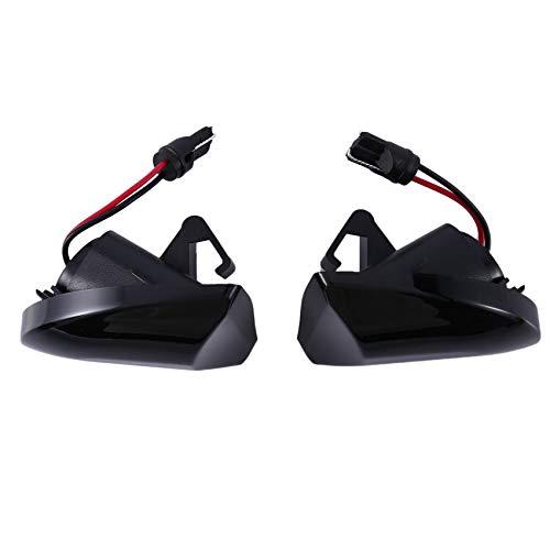 SNOWINSPRING Marcador Lateral de Guardabarros DináMico para Smart Fortwo W451 Coupe Cabrio Luz de Se?Al de Giro LED