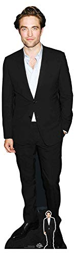 Star Cutouts Ltd- CS828 with Free Cardboard Cutout CS828 Robert Pattinson Lifesize recortado con Mini Cartón,  color multicolor