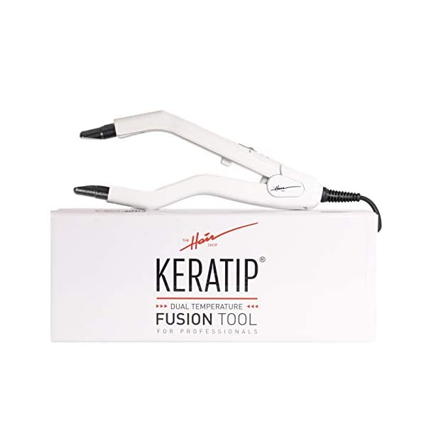 Beauty Shopping White Fusion Tool by The Hair Shop – Keratin Glue Melting Fine Tip Connector