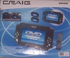 CRAIG CDV550 dual players