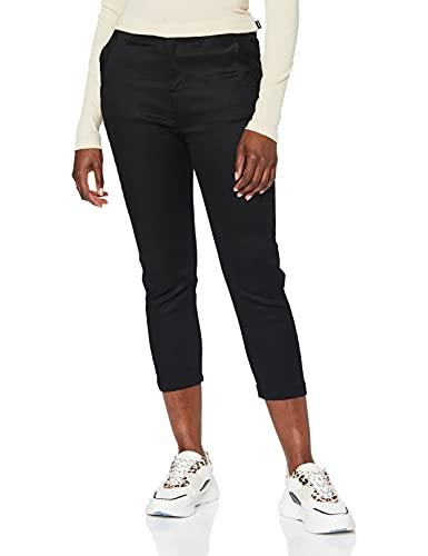 G-STAR RAW Bronson Mid Waist Skinny Chino Pantalones, Negro (Raw Pressed 6960-5185), W23/L32 (Talla del Fabricante: 23W / 32L) para Mujer