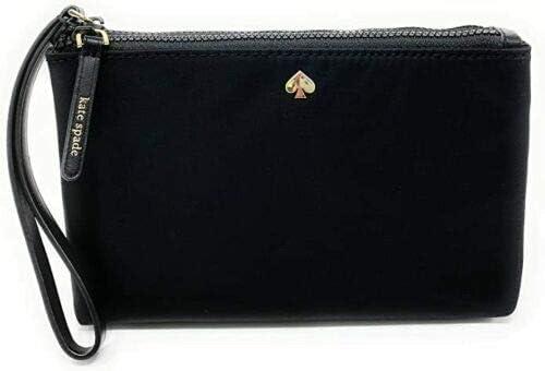 Kate Spade NY Jae Medium Nylon Double Zip Wristlet Black