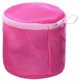 Mallofusa BrasLaundry Wash Bag Mesh for Washing Machine Travel Laundry Bag Bras Underwear Pink