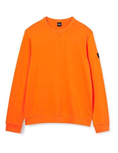 BOSS Walkup 1 Maglia di Tuta, Medium Orange (811), L Uomo