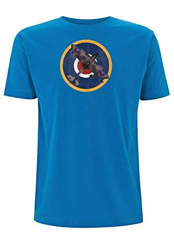 Time 4 Tee Spitfire WW2 - Camiseta de manga corta con remache...