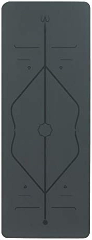 YOOMAT 5mm umweltfreundliche Yogamatte Anfnger Yogamatte tragbare Yogamatte Yogahalle