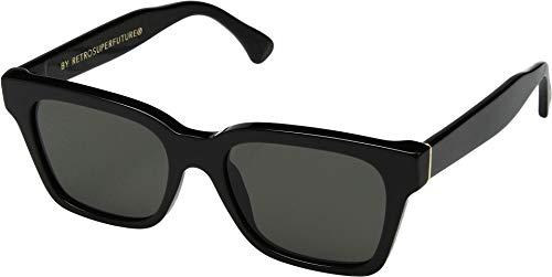 Sunglasses Super by Retrosuperfuture America Black 5W5 Regular R 52 18 145 NEW