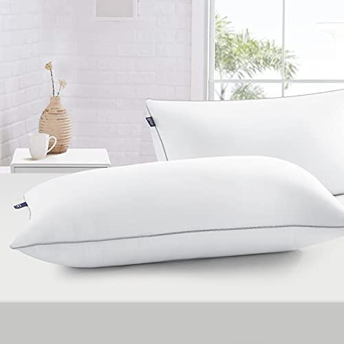 BedStory Kopfkissen 40x80, Kissen 2er Set aus Hochwertigen Mirkofarsen Füllung 950gx2 , Effektive Unterstützung für Alle Schlafpositionen,Bequmer Weicher und Atmungsaktiver Kissen