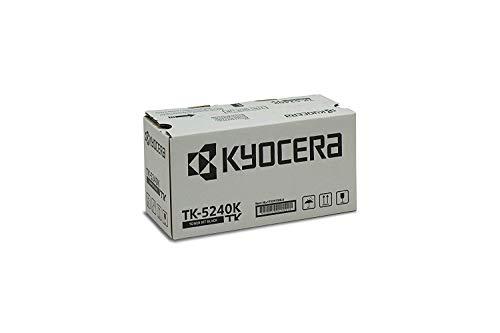 Kyocera TK-5240K Original Toner-Kartusche Schwarz, 1T02R70NL0. Für ECOSYS M5526cdn, ECOSYS M5526cdw, ECOSYS P5026cdn, ECOSYS P5026cdw