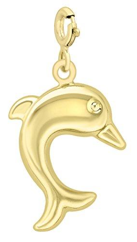 Carissima Gold Damen Charms 9 Karat (375) Gelbgold 1.62.9013