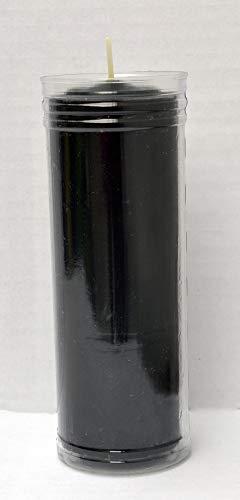 CERAGI Velón Pedir un Deseo, esotérico Color Negro 16,5 x 6 cm