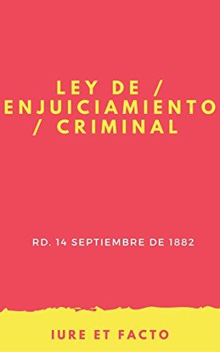 Ley de Enjuiciamiento Criminal: actualizado (con índice)