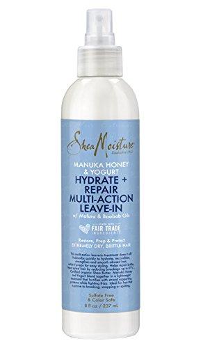 Shea Humedad Manuka Miel y Yogurt Hidrata + Reparación Multi-Acción, 236 ml.