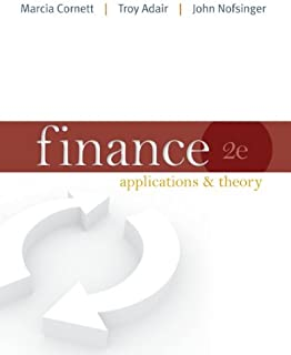 Finance: Applications and Theory with Connect Access Card