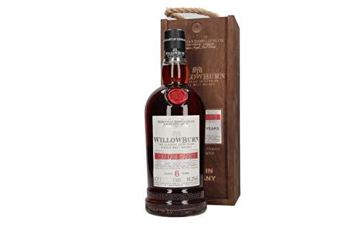 WillowBurn Single Malt Whisky, Limitierte Auflage, Port Cask Matured 6 Jahre CS - 56,2%  - 0,7 l