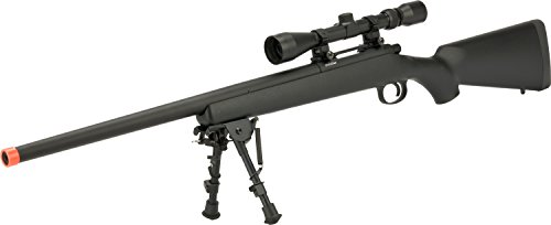 Evike - CYMA VSR-10 Bolt Action Airsoft Sniper Rifle w/Scope Rail (400~450 FPS) - (Wood/Polymer Options