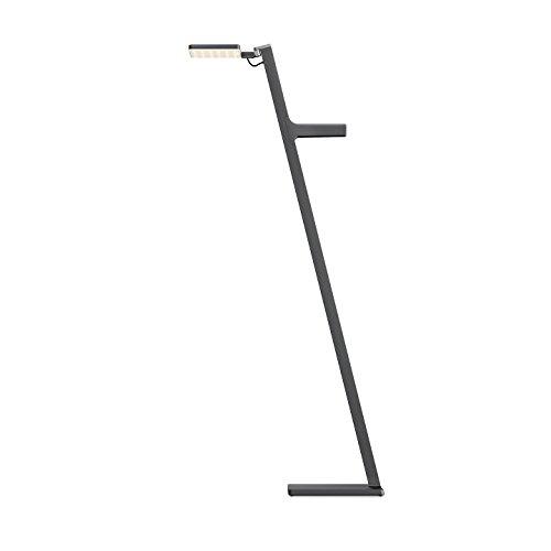Nimbus Roxxane Leggera 101 CL, Design Steh-Lampe, akku-betrieben, tragbar, kabellose LED-Stand-Leuchte, touch dimmbar, 800 Lumen, basaltgrau