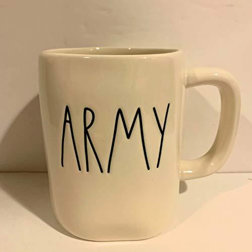 Rae Dunn ARMY Military Coffee Tea Mug - Ceramic
