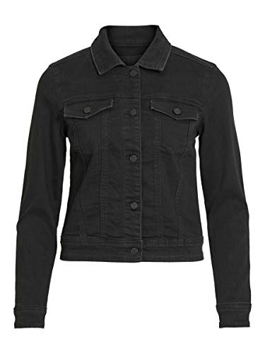 Object Female Jeansjacke Regular fit 38Black Denim