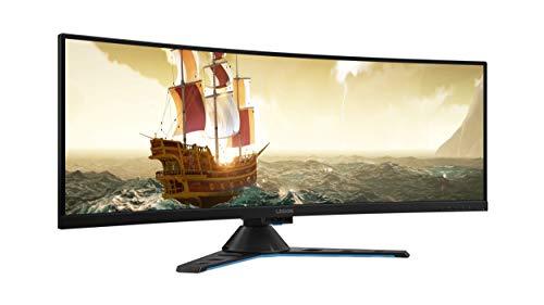 Lenovo Legion Y44w - Monitor Gaming de 43.4' UHD (144 Hz, 4 ms, HDMI + DP + USB Type-C, curvo, FreeSync, ajustable en altura)...