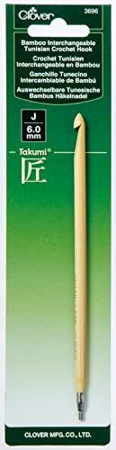Clover Bamboo Interchangeable Tunisian Crochet Hook