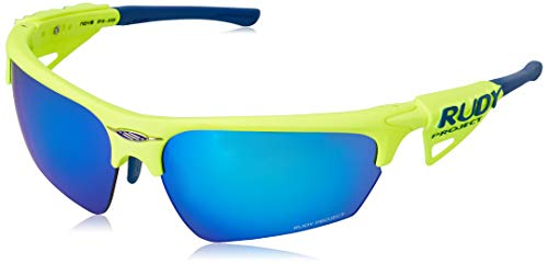 Rudy Project Noyz Rac. Yellow Fluo-MLS Blue, Unisex - Adulto