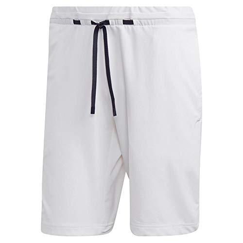 adidas Ny Melange Tennis Short, White, Large