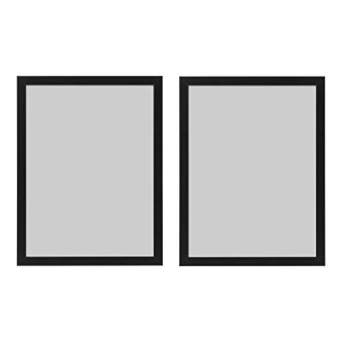 Ikea - FISKBO - Juego de 2 marcos de fotos, 30 x 40 cm, color negro