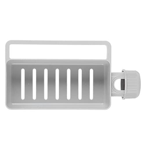 Estante de drenaje, estante de almacenamiento práctico de esponja Estante de almacenamiento de jabón para hotel para cocina para baño