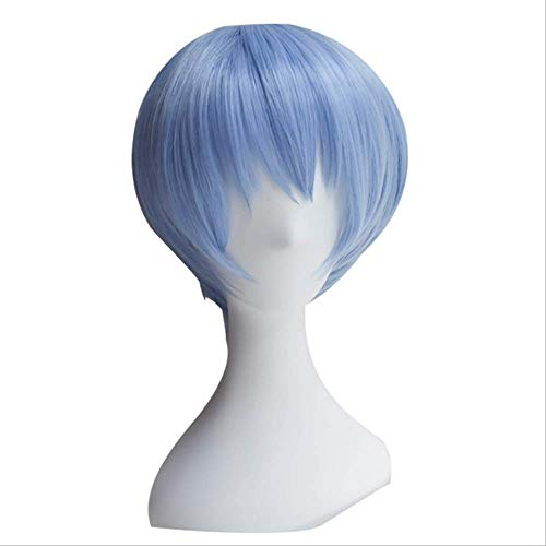 EVA Asuka Langley Soryu Ayanami Rei Cosplay Perücken Kopfbedeckung One Size Perücke B.
