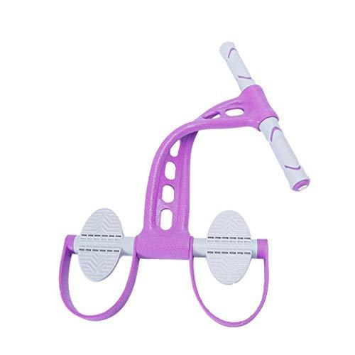 LSZ Pedal Rally del Dispositivo multifunción Delgada del Vientre Artefacto aparatos de Ejercicios Abdominales Femenino Auxiliar de Lazo Máquinas de Brazo (Color : A)