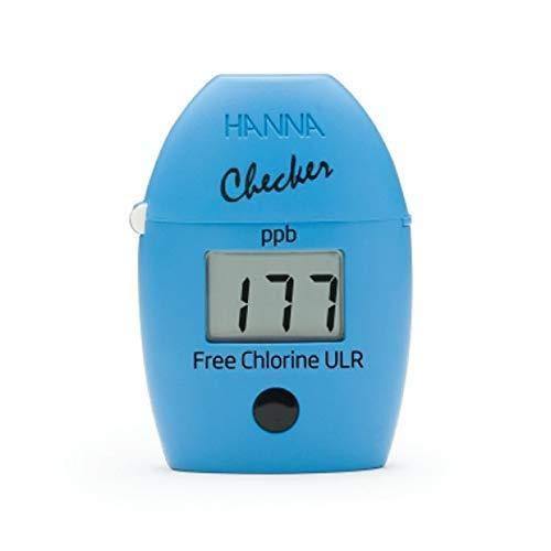 HANNA Insturments HI-762 Ultra Low Range Free Chlorine Handheld Colorimeter, Checker