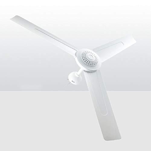 Deckenventilator, Haushalt High Wind Mute Energiesparende Deckenventilator, for Wohnzimmer Gastronomie Schule Schlafzimmer 90cm Durchmesser Weiß (Farbe : C)