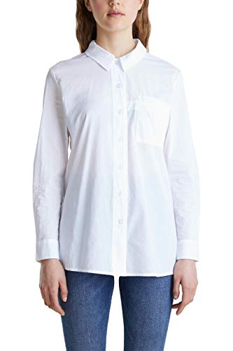 edc by Esprit 040cc1f318 Camicia da Donna, 100/White, XS