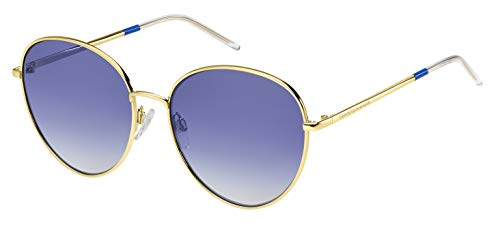 Tommy Hilfiger TH 1649/S, Occhiali da Sole Donna, Gold Blue, 58