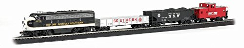 Bachmann Trains - Thoroughbred Ready To Run Electric Train Set - HO Scale
