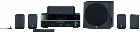Yamaha YHT 399UBL 5 1 Channel Home Theater in a Box System product image