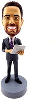 Unibobble 7 Inches Custom Made Occupational Bobble head Doll From Head To Toe Based On Your Photos