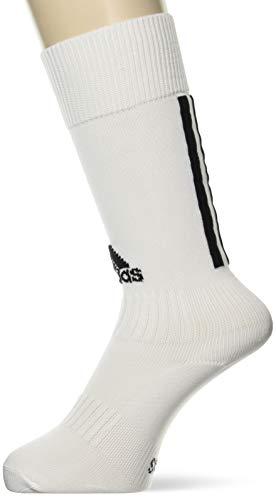 adidas SANTOS SOCK 18 Socks, Unisex adulto, White/Black, 3739