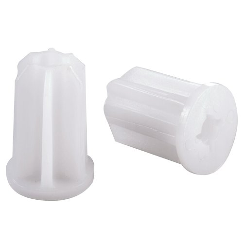Shepherd Hardware 9073 1-Inch Plastic Furniture Socket