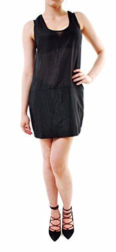 One Teaspoon Isola Luxe Stile abbigliamento nero 16828A formato delle donne Cucchiaino S