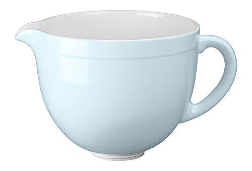 KitchenAid Keramikschüssel, Keramik, eisblau, 19.6x32x23.4 cm