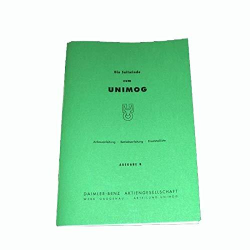 mogworld Unimog Betriebsanleitung Seilwinde hinten 401/411 1960