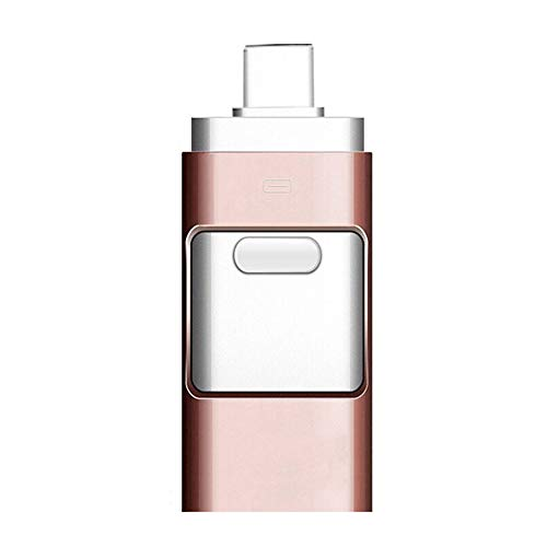 MFWallMirror Flash Drive USB Flash Drive for iOS Flash Drive USB 3.0 External Storage,Android,PC Photo Picture Stick Pink