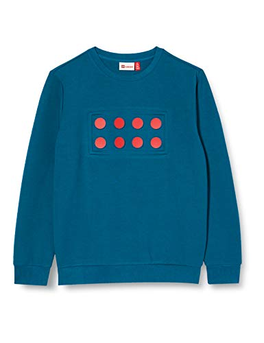 Lego Wear Jungen LWSAM Sweatshirt, 761 Dark Blue, 140