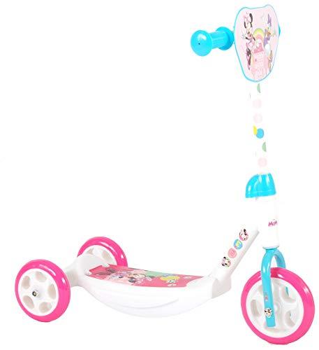 Minnie Mouse Disney Roller für Kinder ab 2 Jahre Micky Maus Mädchen Laufrad Scooter Pink