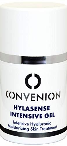 Convenion Hylasense Intensivgel, erfrischendes Gel als ergänzende Feuchtigkeitspflege für das Gesicht und Augenpartie, 50 ml